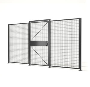 Saf-T-Fence Partitions Made in America from Folding Guard