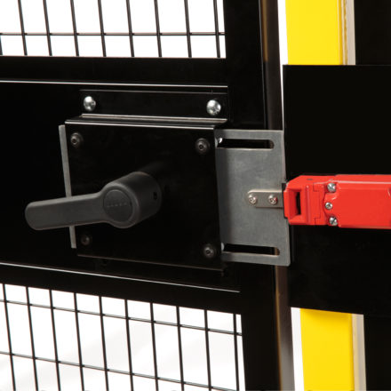 Drop-N-Lock® Machine Guarding Feature