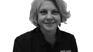 Feature Folding Guard Employee Kelly Kusmider