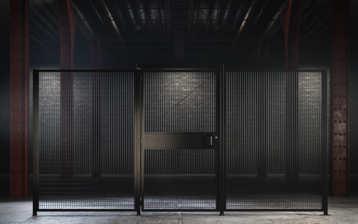 SAF-t-fence Security Display from Folding Guard