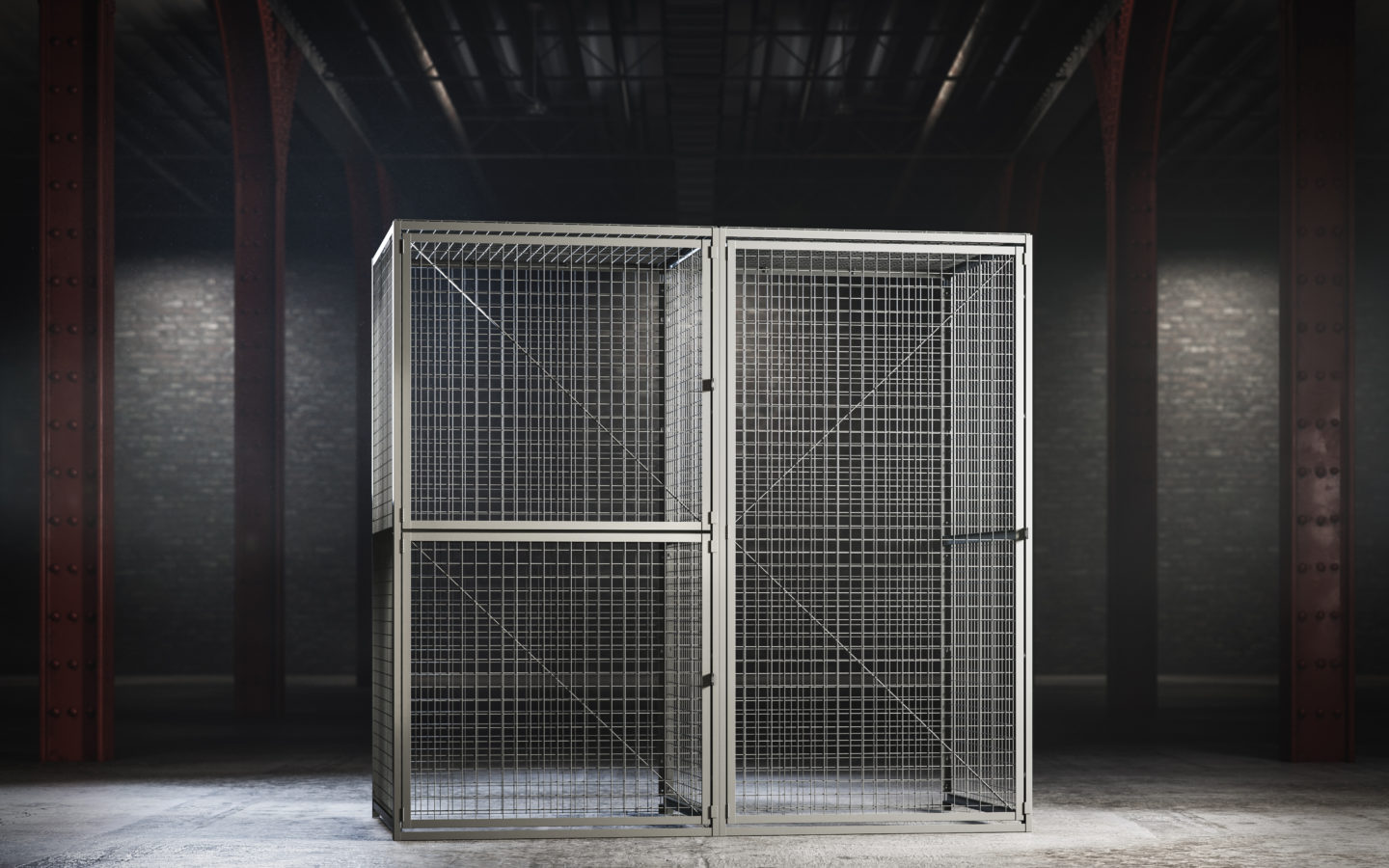Storage Display from Folding Guard