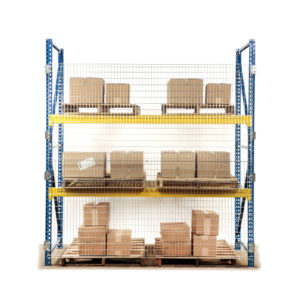 Qwik-Fence® Pallet Rack Backing Made in USA