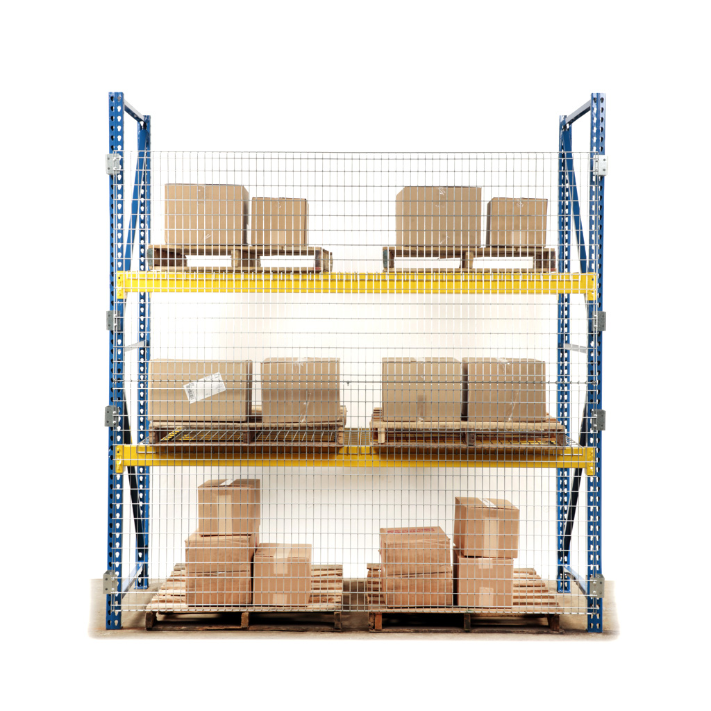 Qwik-Fence® Pallet Rack Backing