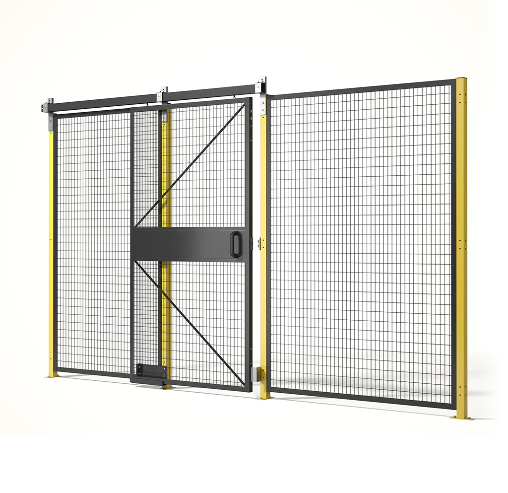 Saf-T-Fence Machine Guarding Made in America from Folding Guard