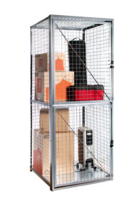 Stor-More® Tenant Storage Locker - Framed Welded Wire