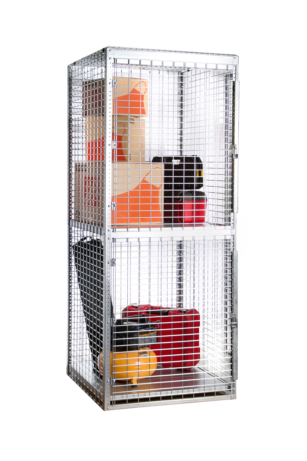 Stor-More® Tenant Storage Locker - Galvanized Welded Wire