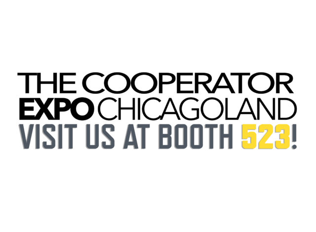 The Cooperator Expo Chicagoland Visit Us at Booth 523!