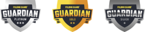 Folding Guard Guardian tier logos