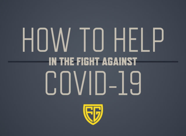 How to help in the fight against COVID-19 - Folding Guard