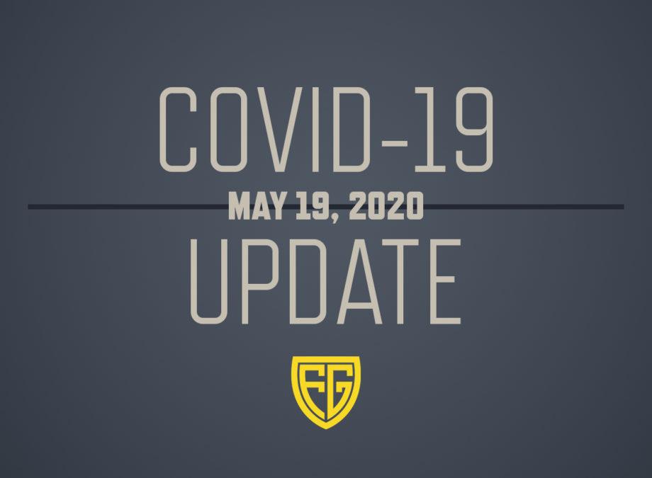 COVID-19 May 19, 2020 Update - Folding Guard