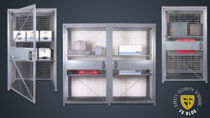 Featured Loss Prevention Cabinets from Folding Guard