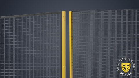 Framed vs Frameless Mesh Partitions from Folding Guard