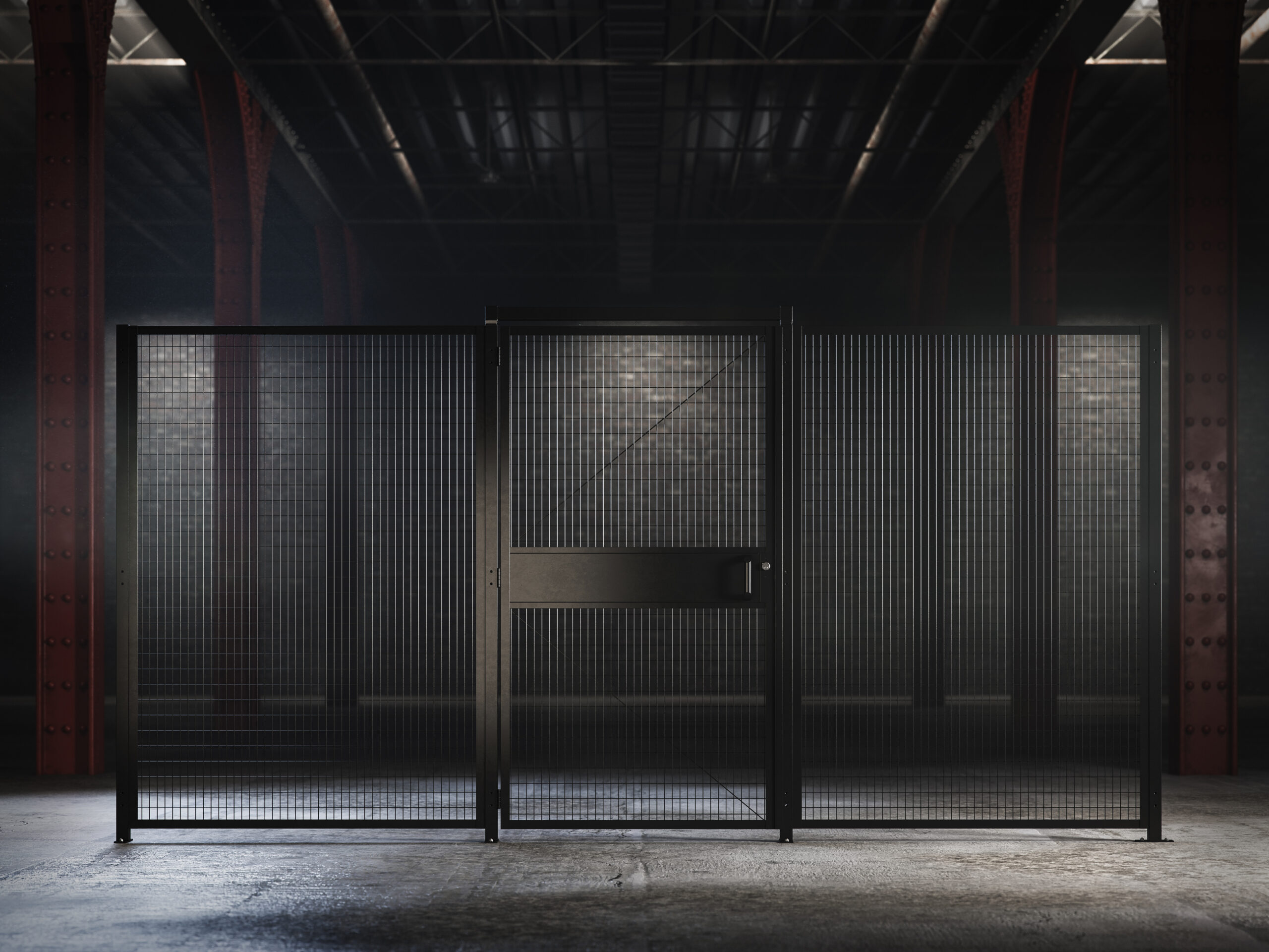 Saf-T-Fence Partitions Security
